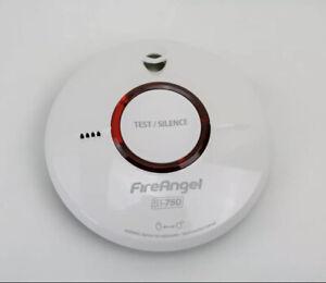 2X FireAngel ST-750T Wireless Thermoptek Optical Smoke Alarm .Twin Pack (2)