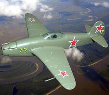 1:87 Yakovlev Yak-15 Soviet jet Airplane model Die cast 43 DeAgostini