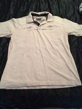 Hydro Code Tan Short Sleeve Polo Mens Size M