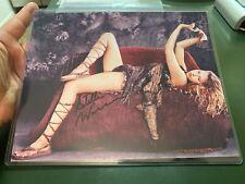 Estella Warren signed 8x10 Photo ,Victoria's Secret Model . With COA. Sexy Pose