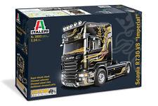 Italeri 3883 1/24 Scale Show Truck Model Kit Scania R730 V8 Imperial 4x2