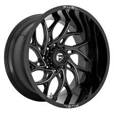 FUEL D741 Runner Rim 26X14 8X180 Offset -75 Gloss Black Milled (Quantity of 4)