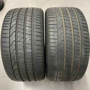 2x 315/35 R21 111Y Pirelli Pzero N0 Sommerreifen PORSCHE CAYENNE COUPE 7,7mm