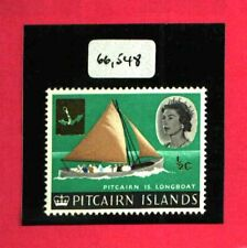 PITCAIRN ISLANDS 1967 ½c MISSING BROWN w/CERTIFICATE FINE MINT RRR