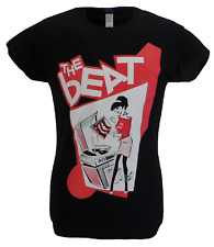 Ladies Official Licensed The Beat Record Player Girl T Shirts