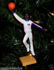 patrick EWING new york KNICKS basketball NBA xmas TREE ornament #33 vtg JERSEY