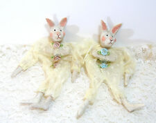 Bunny Ornaments Lace Gift Bags