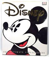 Disney: The Ultimate Visual Guide DK Dorling Kindersley Illustrated Book
