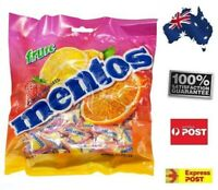 405G Mentos Fruit Bag Candy Lollies Home Office Delicious Fun Gift FREE POSTAGE
