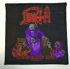 Death Scream Bloody Gore Album Cover Death Metal Woven Patch New