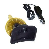 Hqrp Support Voiture et 12V Chargeur pour Tomtom One XL XL-S GPS Système