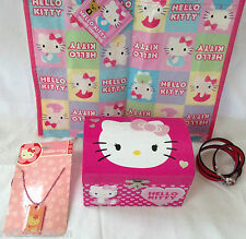 ❤️HELLO KITTY LOT 😺 Christmas 🎄 Jewelry Package Stocking Stuffers NEW Gifts❤️