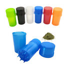 Spice Mill Hard Plastic Herb Crusher Herbal Grinder Can Tobacco Storage Case