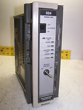 AEG MODICON MODEL 680 PROGRAMMABLE CONTROLLER PC-0984-680 WITH KEY NO BATTERY