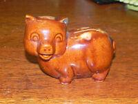 Vintage Brush McCoy  Pig Piggy Bank