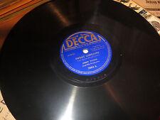78RPM Decca 7553 Jimmy Noone, Sweet Lorraine / Hell in My Heart  beautiful E