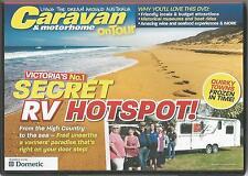 CARAVAN & MOTORHOME ON TOUR DVD - ISSUE 242 VICTORIA'S No.1 SECRET RV HOTSPOT!