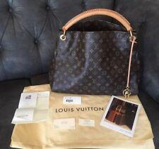 😍 %100 Auth Louis Vuitton Artsy MM Monogram Canvas Leather Tote Shoulder Bag😍