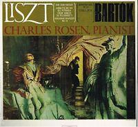 Liszt: Don Juan, Sonett Ab Petrarca, Bartok Entwürfe Op.18 Charles Rosen - LP
