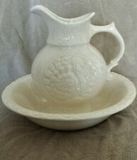 McCoy pitcher and bowl