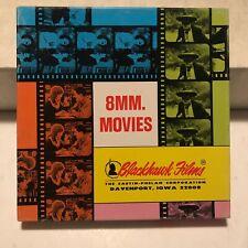 "8mm Movies 7"" Blackhawk PLUNGE THRU TRESTLE JUGGERNAUT Vintage In Great Box"