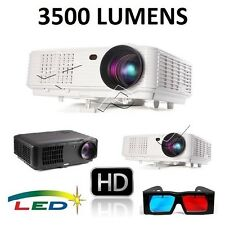 3500 LUMEN HD720P/HD1080P 3D LED PROJECTOR for Home Cinema/Business