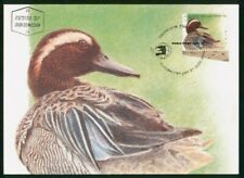 Mayfairstamps Israel FDC 1989 Duck Maximum First Day Card wwo_51235