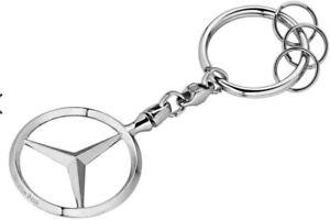 Genuine Mercedes Benz Brussels Key Chain B66957516