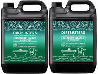 Dirtbusters Powerful Bathroom Washroom Cleaner With disinfectant 2 x 5 Litres