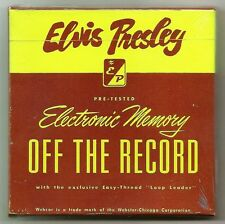 """ELVIS PRESLEY 5 CD SET """"OFF THE RECORD"""" 2016 HOME RECORDINGS IN A PRIVATE MOMENT"""