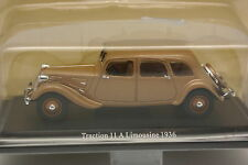 UH and Norev Press 1/43 - Citroen Traction 11 A Limousine 1936 beige metal