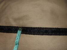 2M in pizzo ricamato con passsants + nastro velluti colletto nero larghezza 2cm