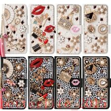 Bling Wallet Cover Leather Diamond Case For Samsung note 20 Ultra 4G 5G S20 S21