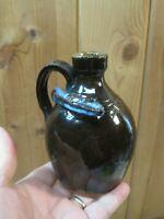 Walter Fleming Folk Art Pottery Snake Jug  B2626