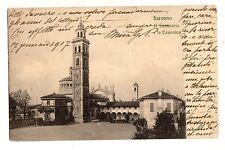 C002394     SARONNO  IL  SANTUARIO  E  LA   CANONICA    VG  1917