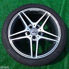 4 PERFECT Genuine OEM Factory Mercedes-Benz AMG C63 WHEELS TIRES C300 C350 C250