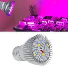 Bid Full Spectrum 28W E27 LED Grow Light Hydroponics Plant Veg Flower Lamp Blub