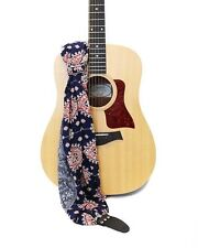 """Capturing Couture Guitar Strap Bluebell Scarf #Gtrsf-Blbl12""""-14 34;W 45�-60�L"""