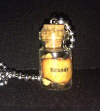 Bezoar Poison Potion Antidote Bottle Necklace For Fan Of Harry Potter Geekery