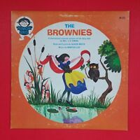 MARTHA COE / ALICEN WHITE Brownies  M26 LP Vinyl VG++ Cover VG+ Children's Story
