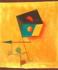'Il Conquistatore quadro - Stampa d''arte su tela telaio in legno'