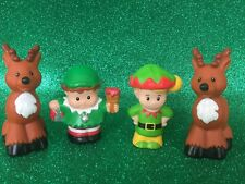 Fisher Price Little People Christmas Reindeer & Elves