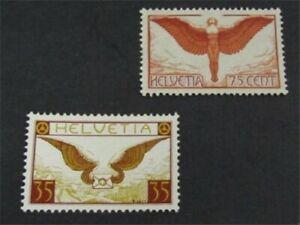nystamps Switzerland Stamp # C11.C13 Mint OG H $30   L23y1146