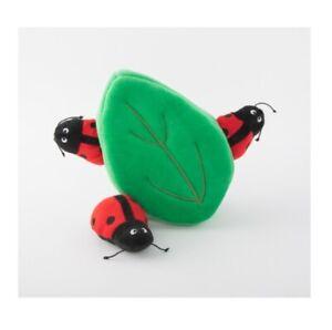 Zippy Paws Large Leaf ladybug Burrow Interactive Dog Toy  **UK SELLER**