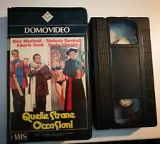 VHS - QUELLE STRANE OCCASIONI di Luigi Magni [DOMOVIDEO]