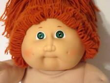 Vintage Coleco 1985 OAA #2 CABBAGE PATCH KIDS Doll~Red Yarn Hair~No Clothes NICE