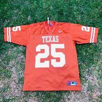 Vintage Nike #25 Vagnier Texas Longhorns Football Jersey M