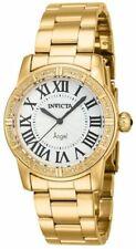 New Ladies Invicta 14717 Swiss Quartz Diamond Accented 18k SS 30mm Watch