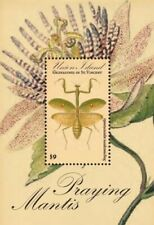 Union Island 2011 - Praying Mantis Stamp Souvenir sheet Mnh