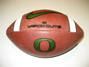 "2020 Oregon Ducks ""Ohana"" GAME BALL Nike Vapor Elite Football vs UCLA 11/21/2020"